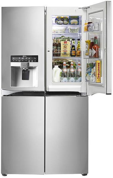 prodotti correlati per lg gmj916nshv inox frigorifero congelatore. Black Bedroom Furniture Sets. Home Design Ideas