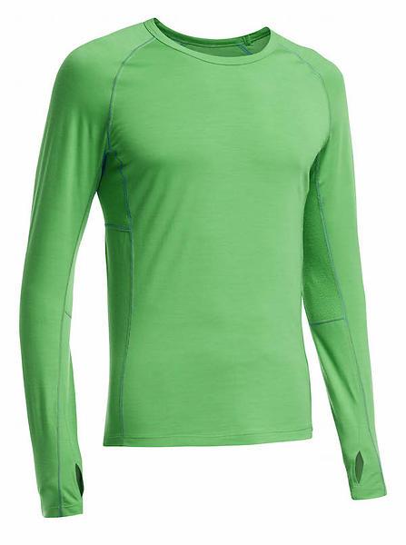 Icebreaker Zone Crewe LS Shirt (Uomo)