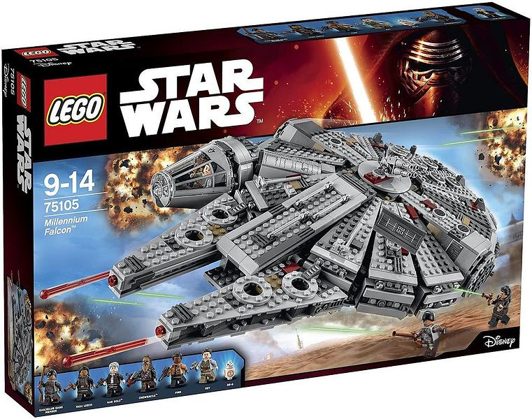 Best deals on LEGO Star Wars 75105 Millennium Falcon LEGO - Compare ...
