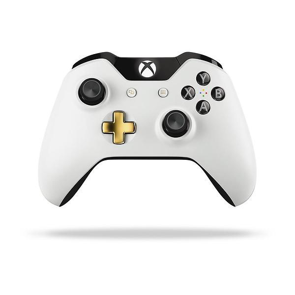 Microsoft Xbox One Wireless Controller S - Lunar White Edition (Xbox One/PC)