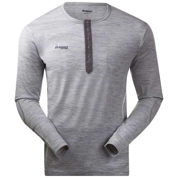 Bergans Henley Wool LS Shirt (Uomo)