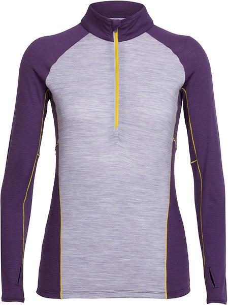 Icebreaker Comet LS Shirt Half Zip (Donna)