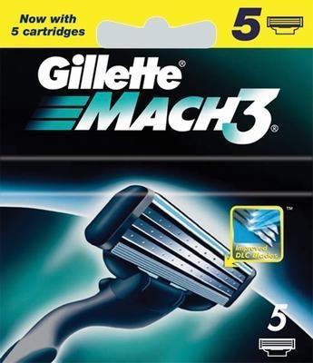 Jämför priser på Gillette Mach3 5-pack Rakblad - Hitta bästa pris på  Prisjakt 9c107a7da7cbe
