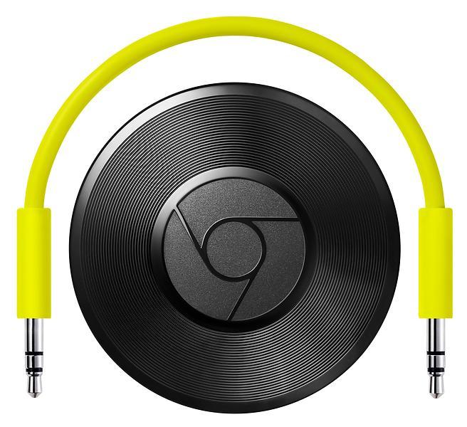Bild på Google Chromecast Audio från Prisjakt.nu