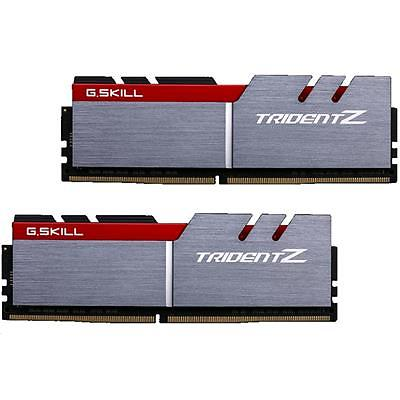 G.Skill Trident Z Silver/Red DDR4 3000MHz 2x8GB (F4-3000C15D-16GTZB)