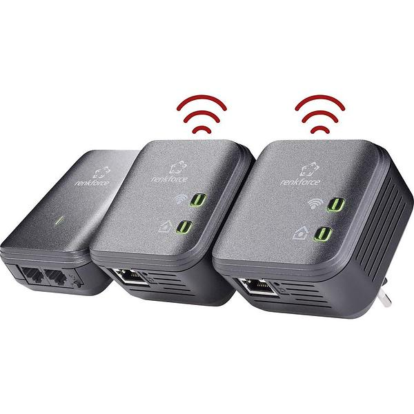 Renkforce PL500D WiFi Network Set