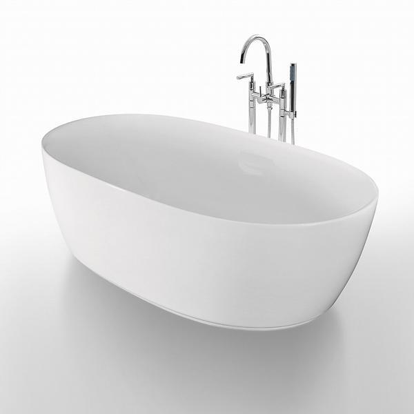 badekar 160x80 Best pris på Bathlife Ideal Oval 160x80 (Hvit) Badekar  badekar 160x80