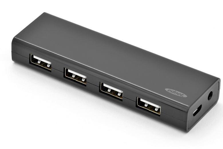 Ednet 4-Port USB 2.0 External (85137)