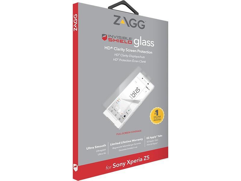 Zagg InvisibleSHIELD Glass for Sony Xperia Z5