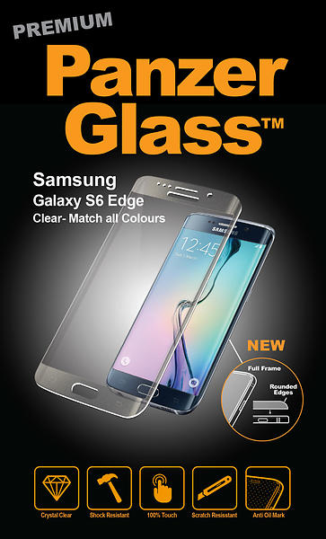PanzerGlass Screen Protector for Samsung Galaxy S6 Edge