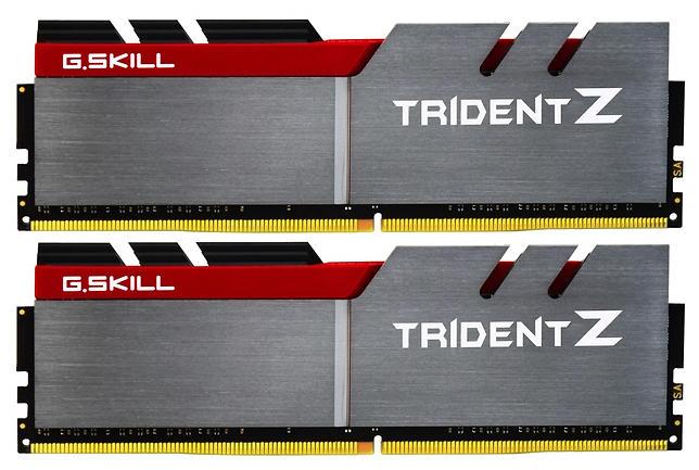 G.Skill Trident Z Silver/Red DDR4 3000MHz 2x8GB (F4-3000C15D-16GTZ)