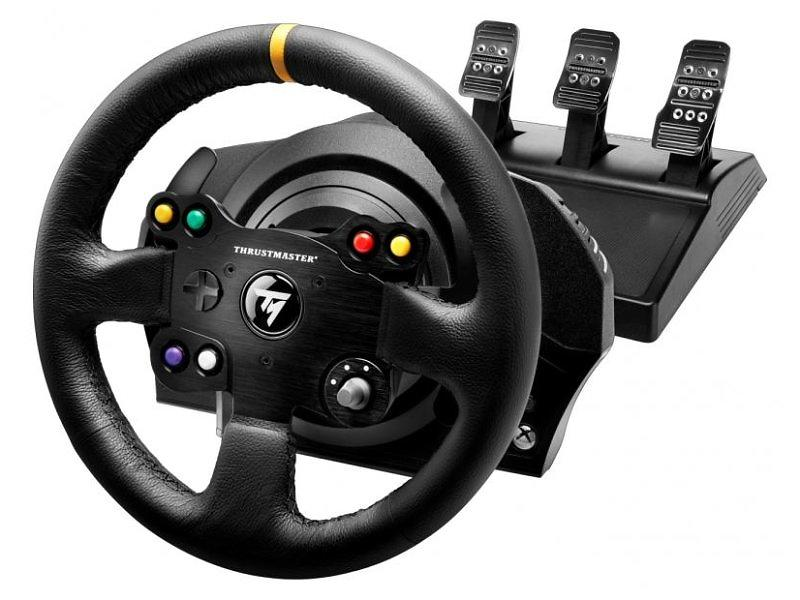 best deals on thrustmaster tx racing wheel leather. Black Bedroom Furniture Sets. Home Design Ideas