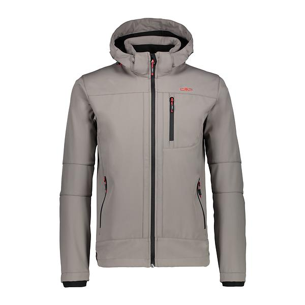 CMP Softshell Jacket Zip Hood 3A01787N-M (Uomo)