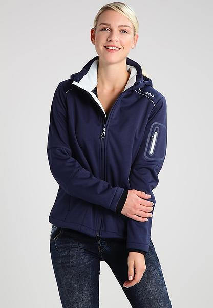 CMP Softshell Jacket Zip Hood 3A05396M (Donna)
