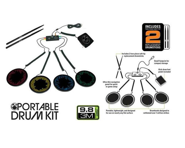 Mad Catz Rock Band Portable Drum Kit (Xbox 360)