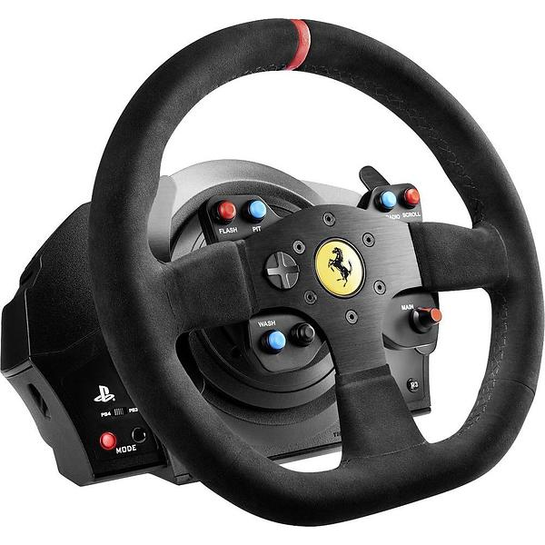 thrustmaster t300 ferrari integral alcantara edition pc ps3 ps4 au meilleur prix comparez. Black Bedroom Furniture Sets. Home Design Ideas