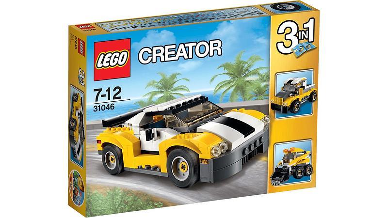lego creator 31046 la voiture rapide au meilleur prix comparez les offres de lego sur led nicheur. Black Bedroom Furniture Sets. Home Design Ideas