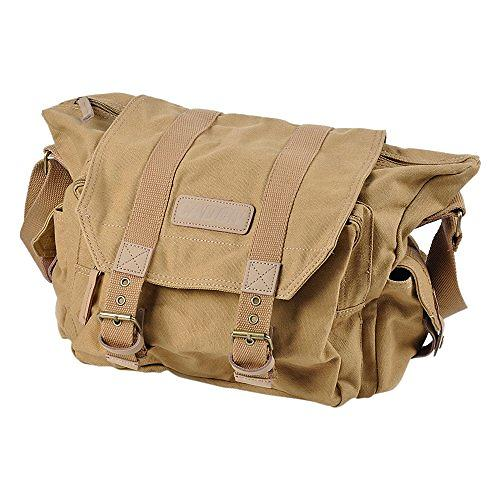 Caden Canvas Vintage Camera Bag