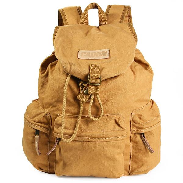 Caden Canvas DSLR Camera Backpack