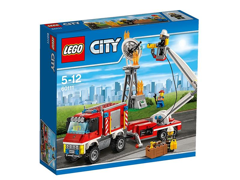 Fin LEGO City 60111 Fire Utility Truck Best Price | Compare deals at AQ-39