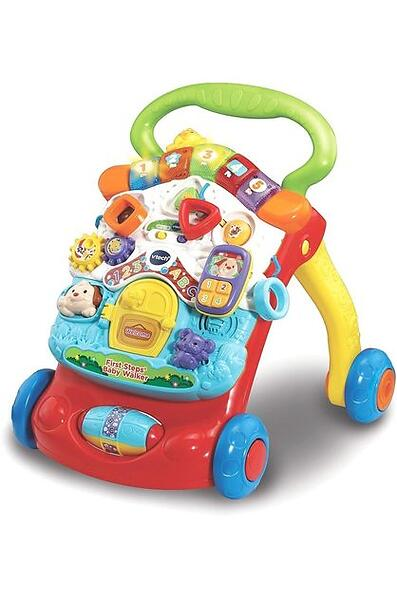 best deals on vtech first steps baby walker push along toy compare prices on pricespy. Black Bedroom Furniture Sets. Home Design Ideas