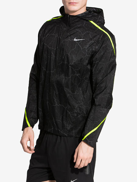 Nike Impossibly Light Crackled Running Jacket (Uomo)
