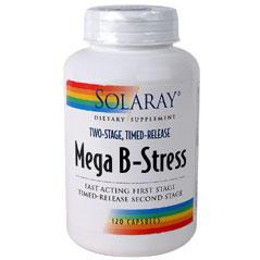 Solaray mega b stress