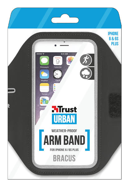 Trust Bracus Sports ArmBand for iPhone 6 Plus/6s Plus