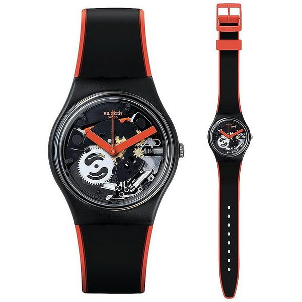 Swatch Red Frame GB290