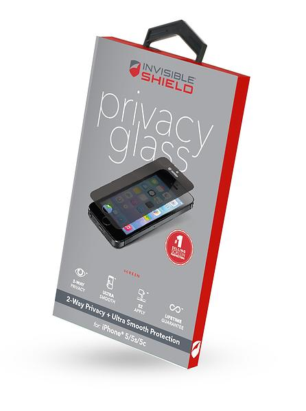 Zagg InvisibleSHIELD Privacy Glass for iPhone 5/5s/SE