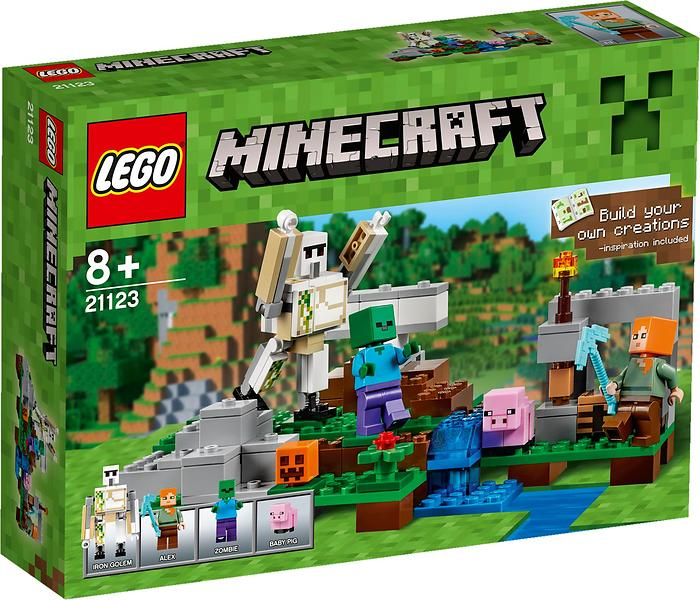 Best deals on LEGO Minecraft 21123 The Iron Golem LEGO - Compare ...