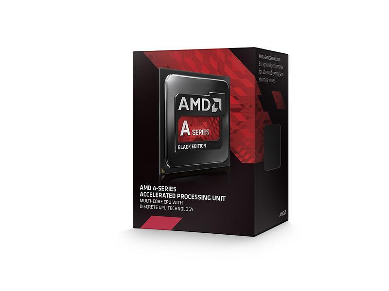 AMD A-Series A8-7650K 3,3GHz Socket FM2+ Box incl. Quiet Cooler