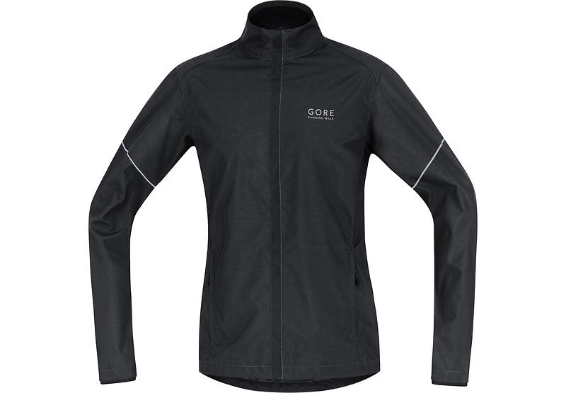 Gore Running Wear Essential Windstopper Active Shell Partial Jacket (Uomo)