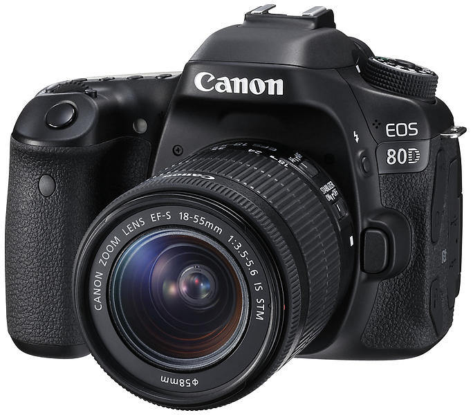 Canon EOS 80D + 18-55/3,5-5,6 IS STM
