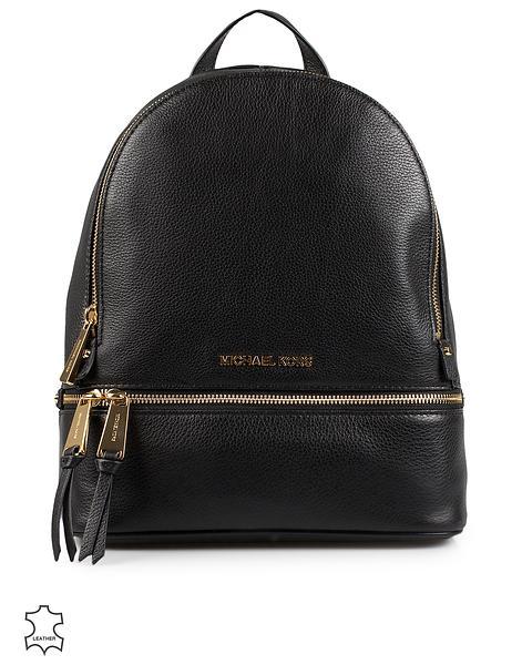 Michael Kors Rhea Medium Leather Backpack (Donna)