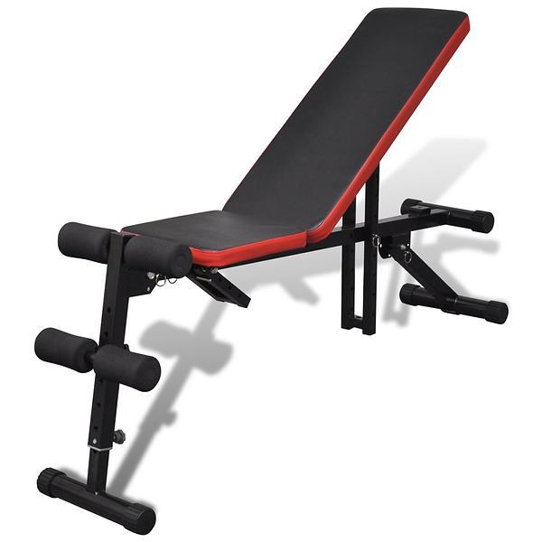 Prisutveckling på vidaXL Adjustable Sit Up Bench Multi-Position  Träningsbänk   ställning - Hitta bästa priset 73154fca4d1da