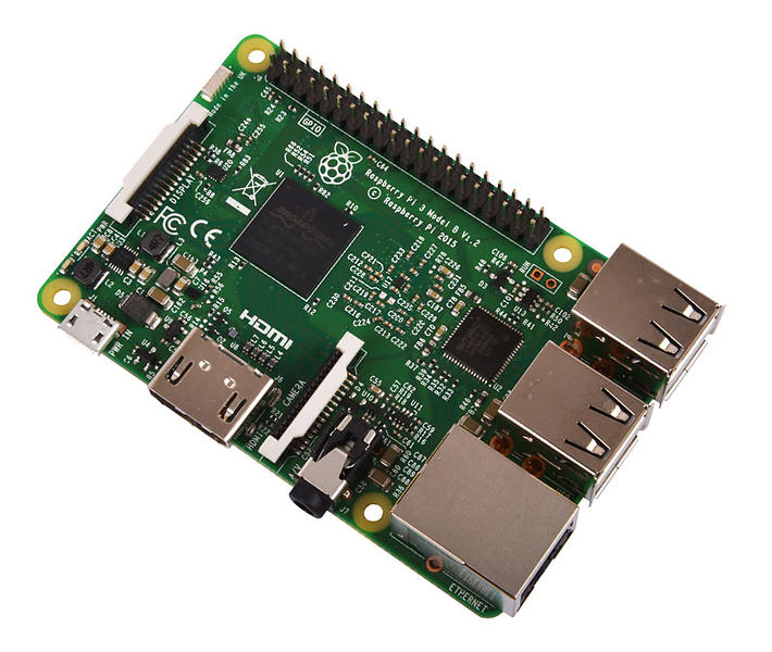 Bild på Raspberry Pi 3 Model B från Prisjakt.nu