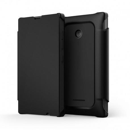 Mozo Accessories Flip Cover for Microsoft Lumia 435