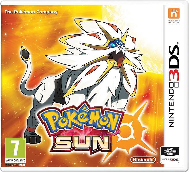 Bild på Pokémon Sun från Prisjakt.nu