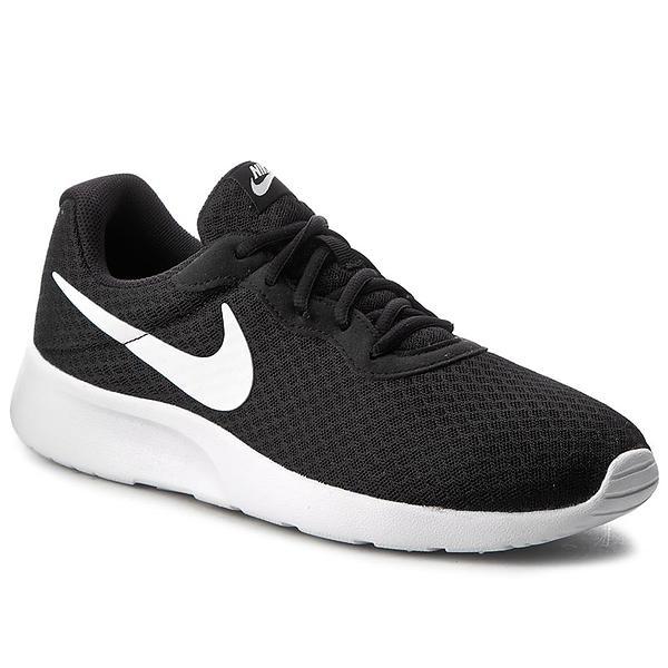 Casual Sko Dame Rabatt Billige Nike Tanjun Svart Hvite