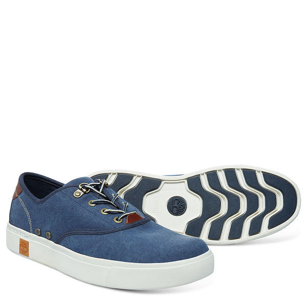 Timberland Amherst Oxford Canvas Low Uomo