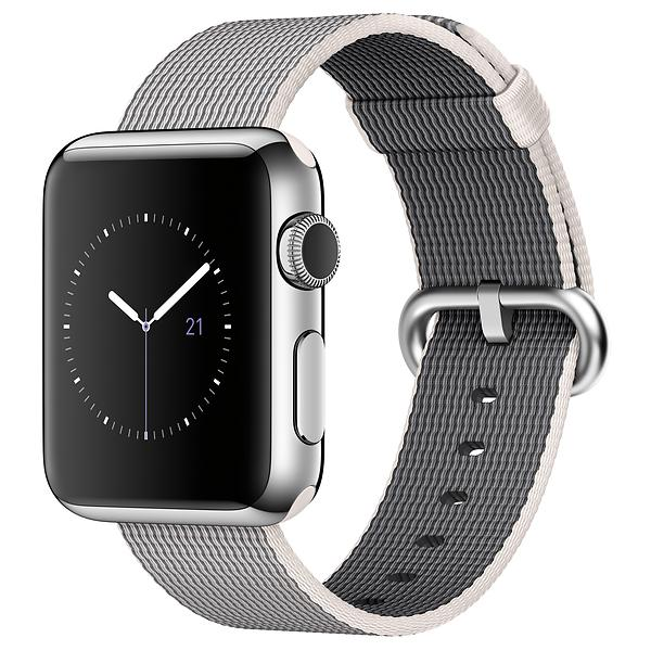 Bild på Apple Watch 38mm with Woven Nylon från Prisjakt.nu