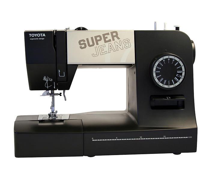Les meilleures offres de toyota super jeans 17xl machine for Machine a coudre fnac
