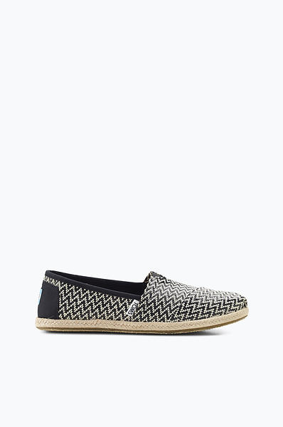Toms Classics Woven Rope Sole Slip-On (Donna)