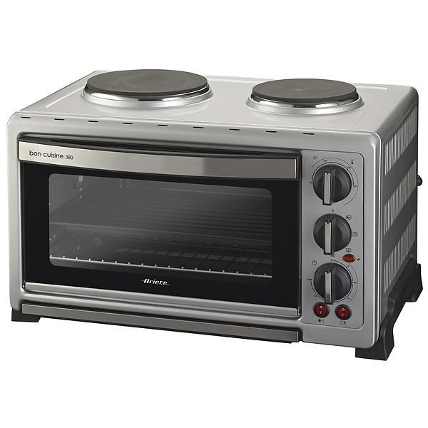 ariete bon cuisine 380 inox au meilleur prix comparez les offres de mini four r chaud sur. Black Bedroom Furniture Sets. Home Design Ideas