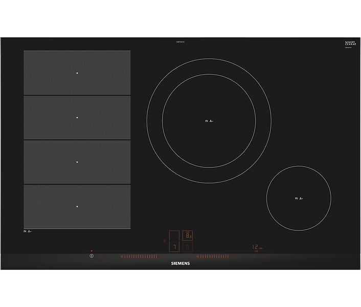 siemens ex875lec1e noir au meilleur prix comparez les offres de plaque de cuisson sur. Black Bedroom Furniture Sets. Home Design Ideas