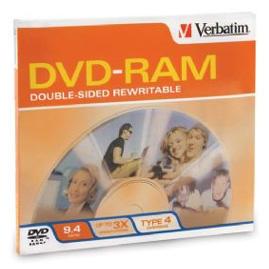 Verbatim DVD-RAM 9,4GB 3x 1pz Jewelcase