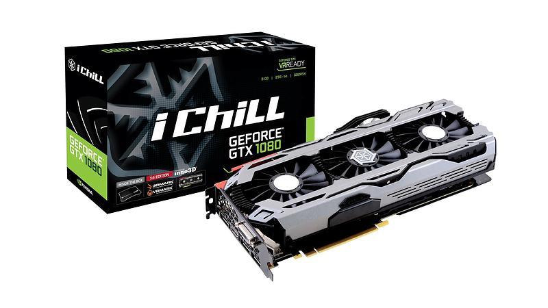 Inno3D GeForce GTX 1080 iChill X4 HDMI 3xDP 8GB