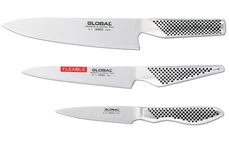 Relaterade produkter för Global G-21138 Knivset 3 Knivar Kökskniv 7777c5ab8d597