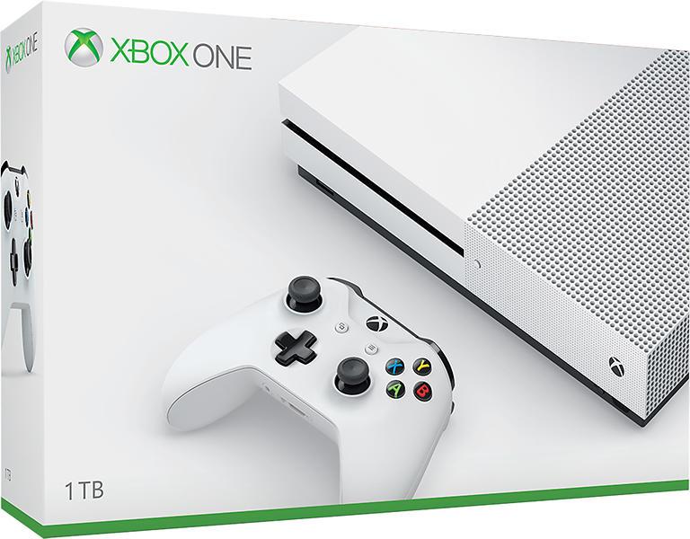 Bild på Microsoft Xbox One S 1TB från Prisjakt.nu